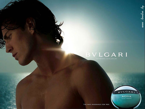 Photo of BVLGARI perfume ad