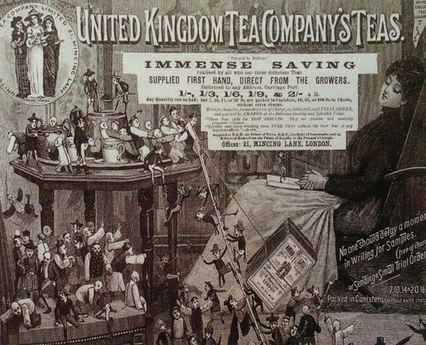 The exponential growth of tea consumption in Britain was adding to the pressure on tea growers.