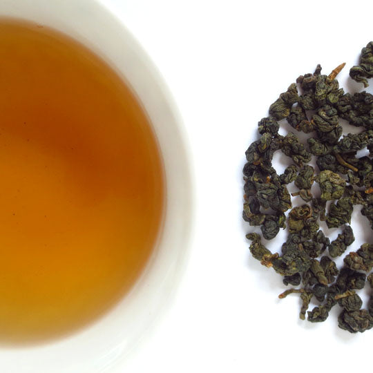 Hung Shui Oolong from Yiguang Shan, Taiwan.