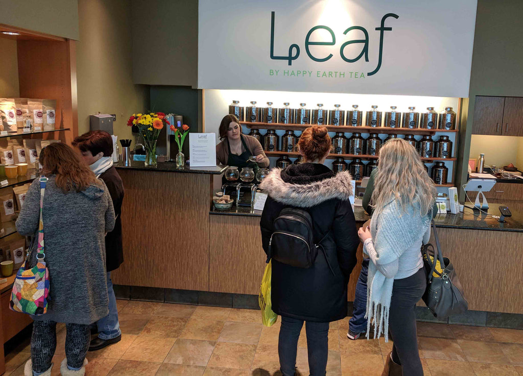 Photo of Leaf by Happy Earth Tea store at Eastview Mall, Victor, NY
