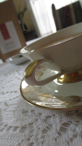 Photo of teacup and saucer