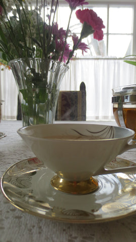 Photo of tea in teacup