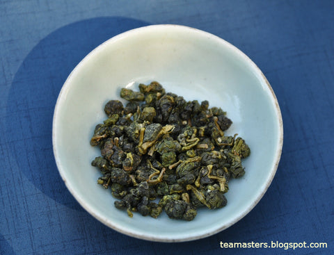 High Mountain Gao Shan oolongs Tea Leaves