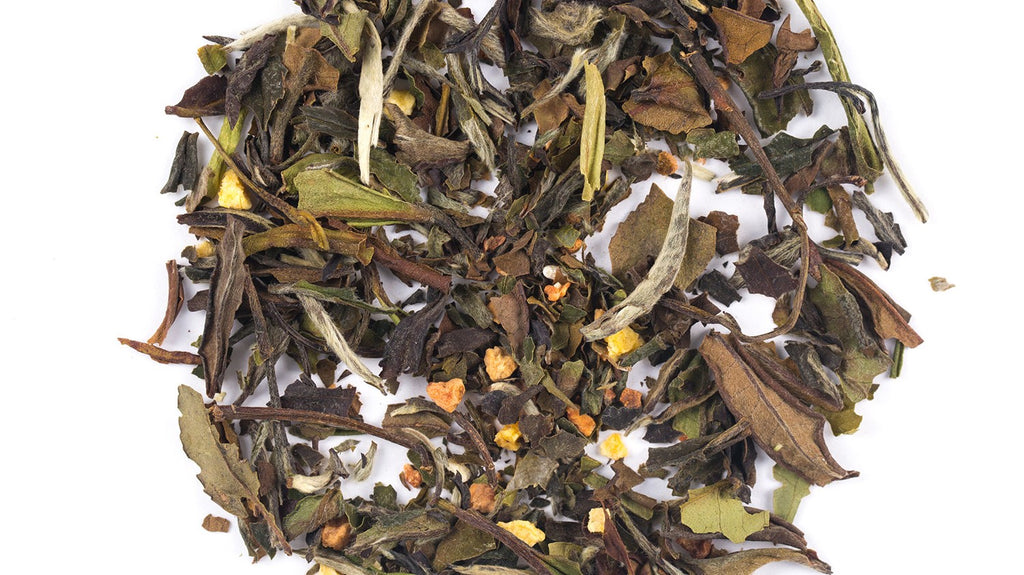 Emperor's Peach - White tea blended with peach and quince.