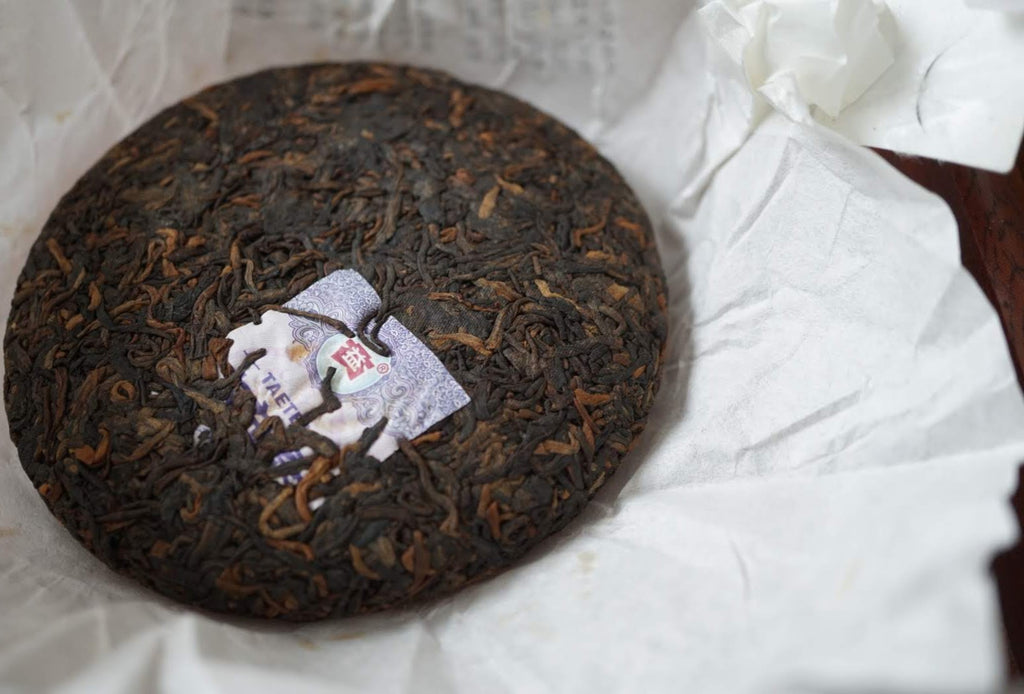 2016 Menghai Ripe Pu-erh tea mini 100 gm cake