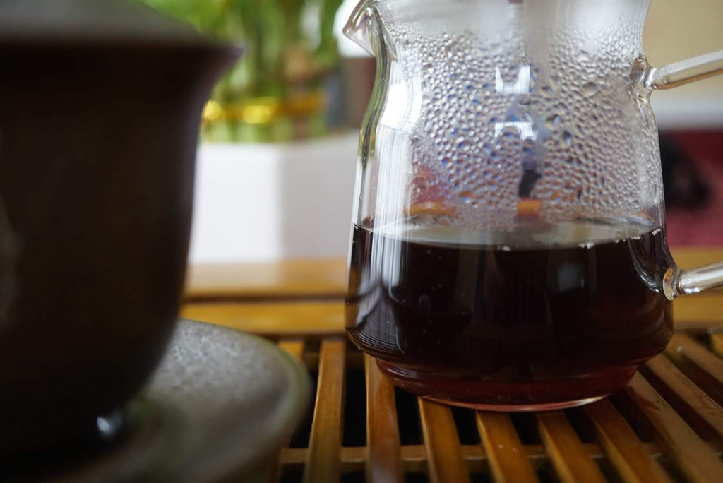 2016 Menghai Ripe Pu-erh tea mini pitcher