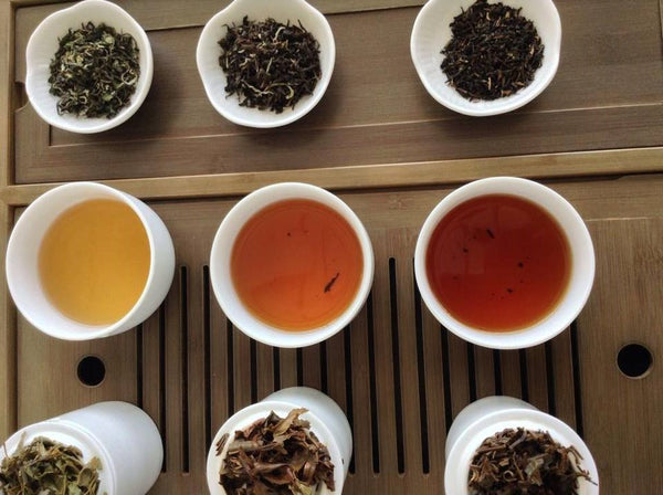 The different seasons of Darjeeling tea - spring, summer and autumn. Also called first flush, second flush and autumn flush.