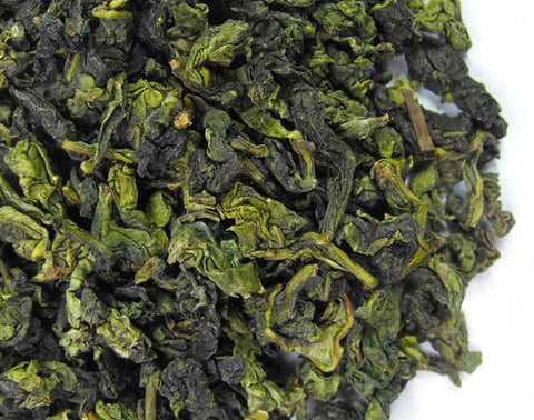 Photo of Tieguanyin Tea Leaves