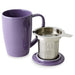 tea mug with infuser and lid