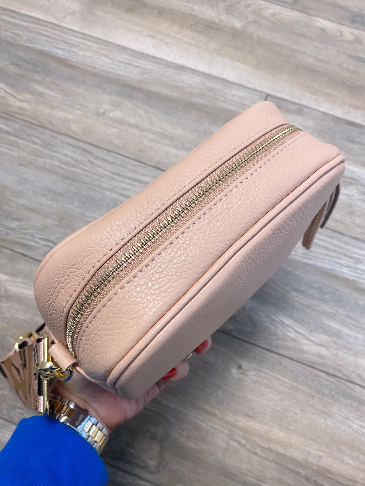 Georgia Cross Body Bag (Peach)