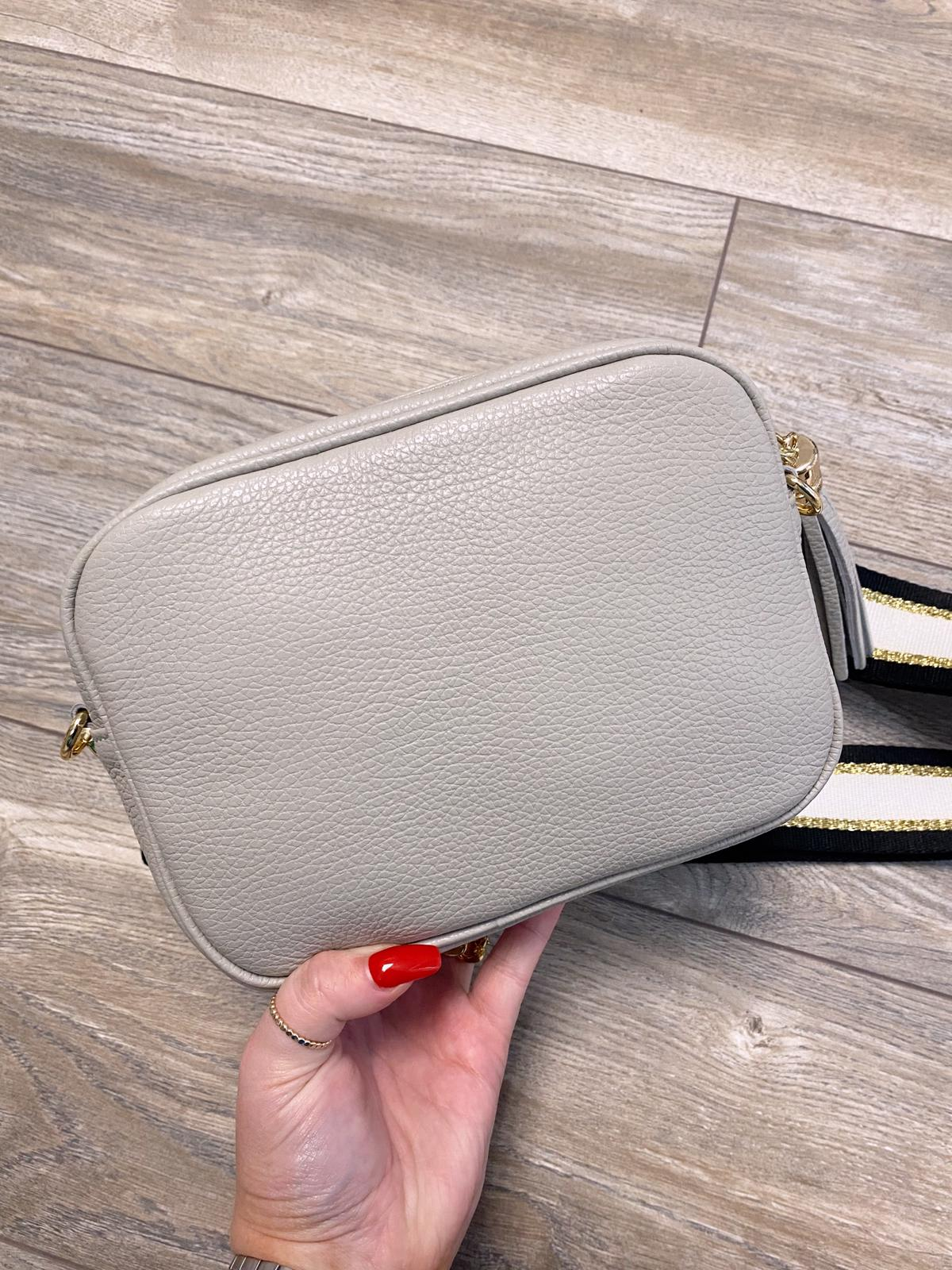 Georgia Crossbody Bag (Grey)