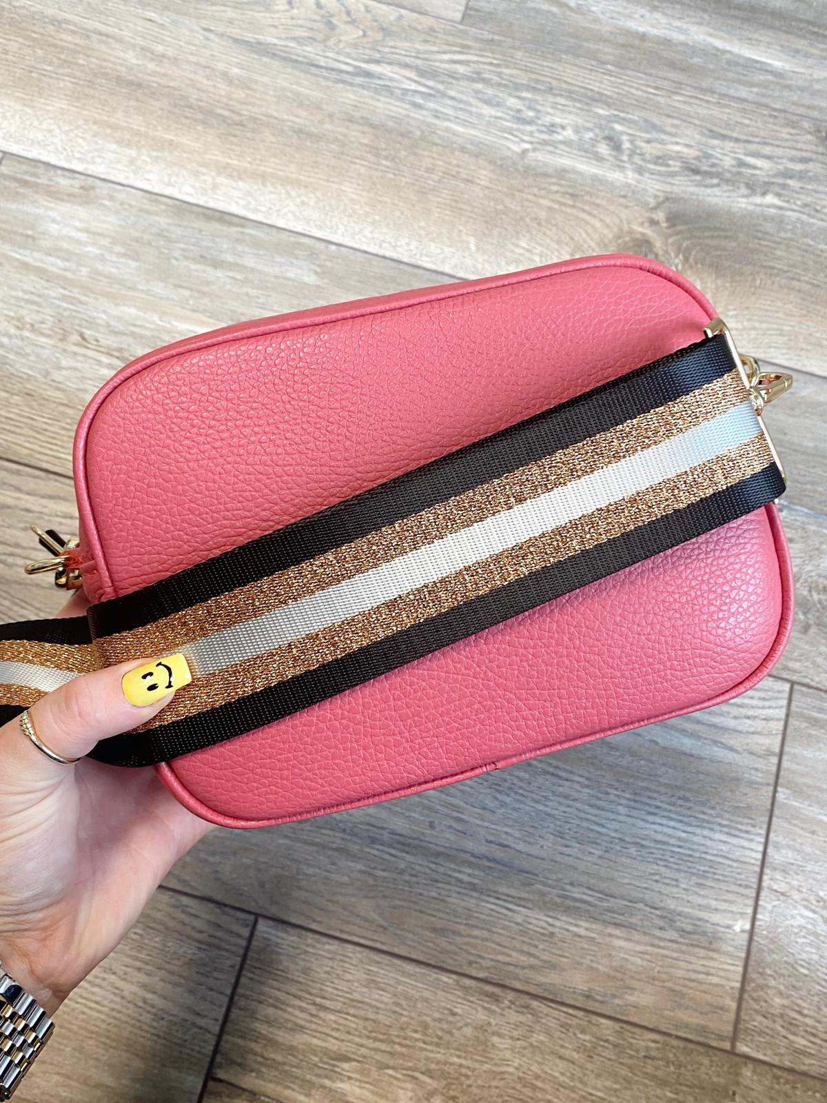 Georgia Cross Body Bag (Raspberry)