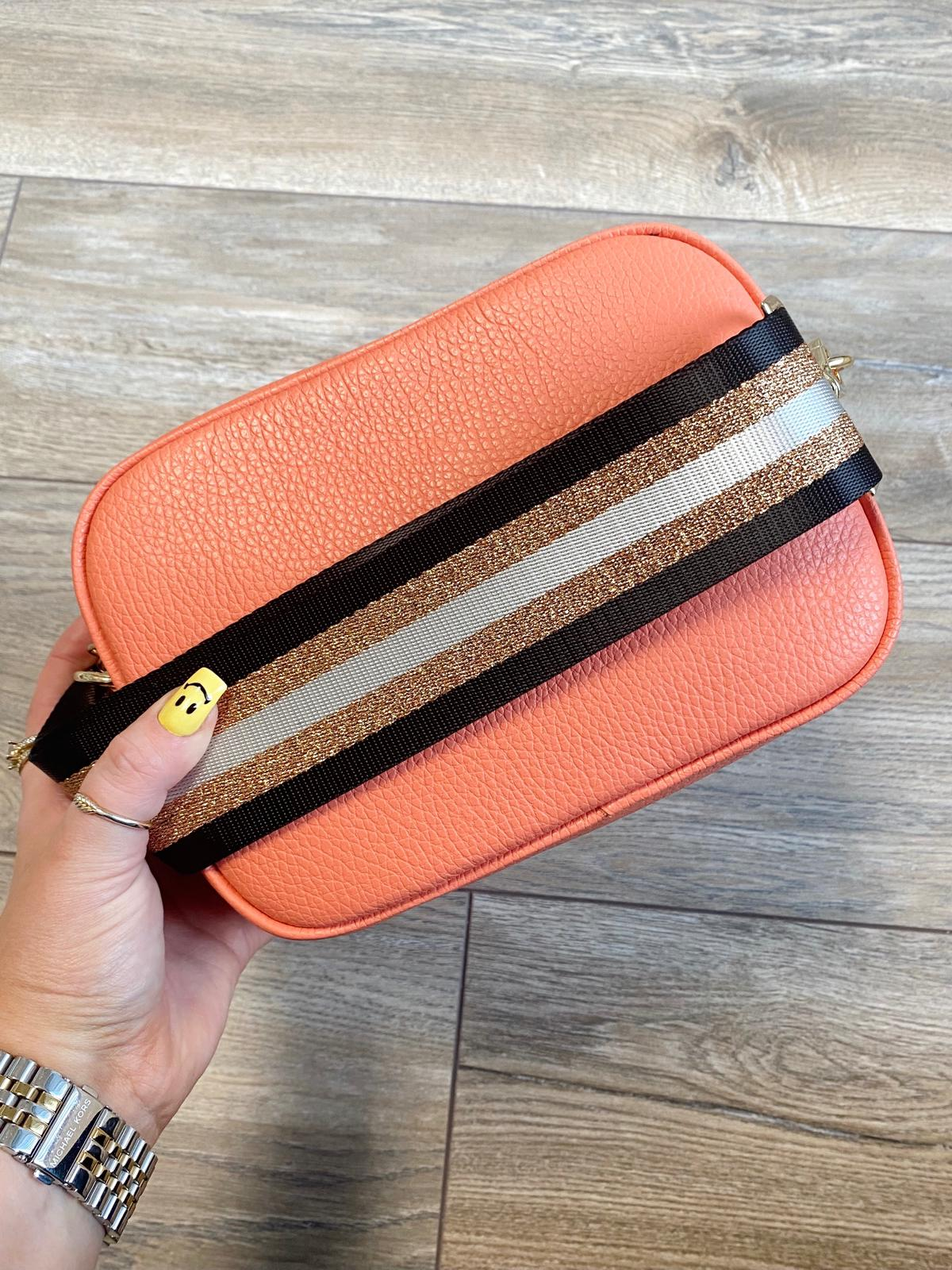Georgia Cross Body Bag (Coral)