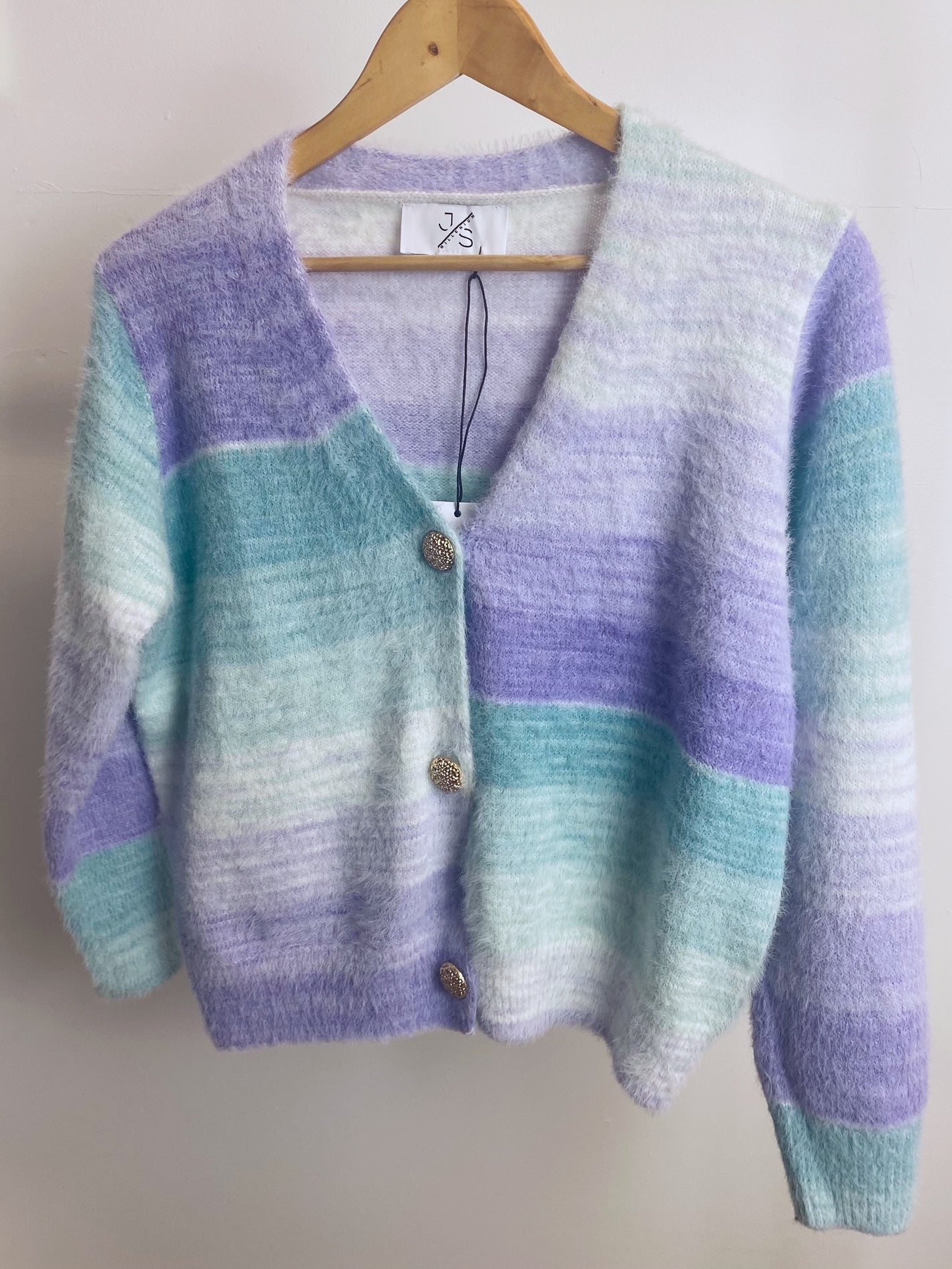 Hyacinth Knitted Cardigan (Green)
