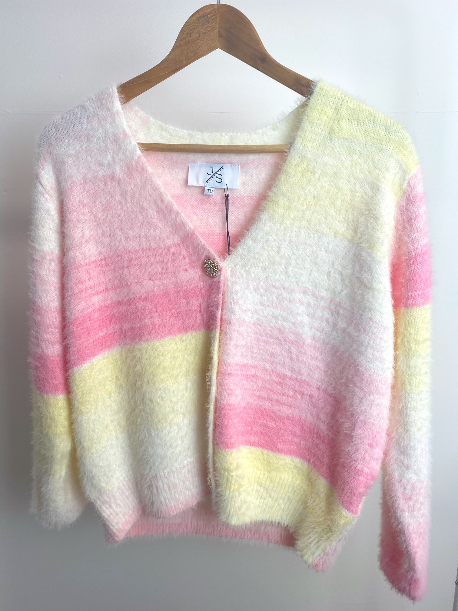 Hyacinth Knitted Cardigan (Yellow)
