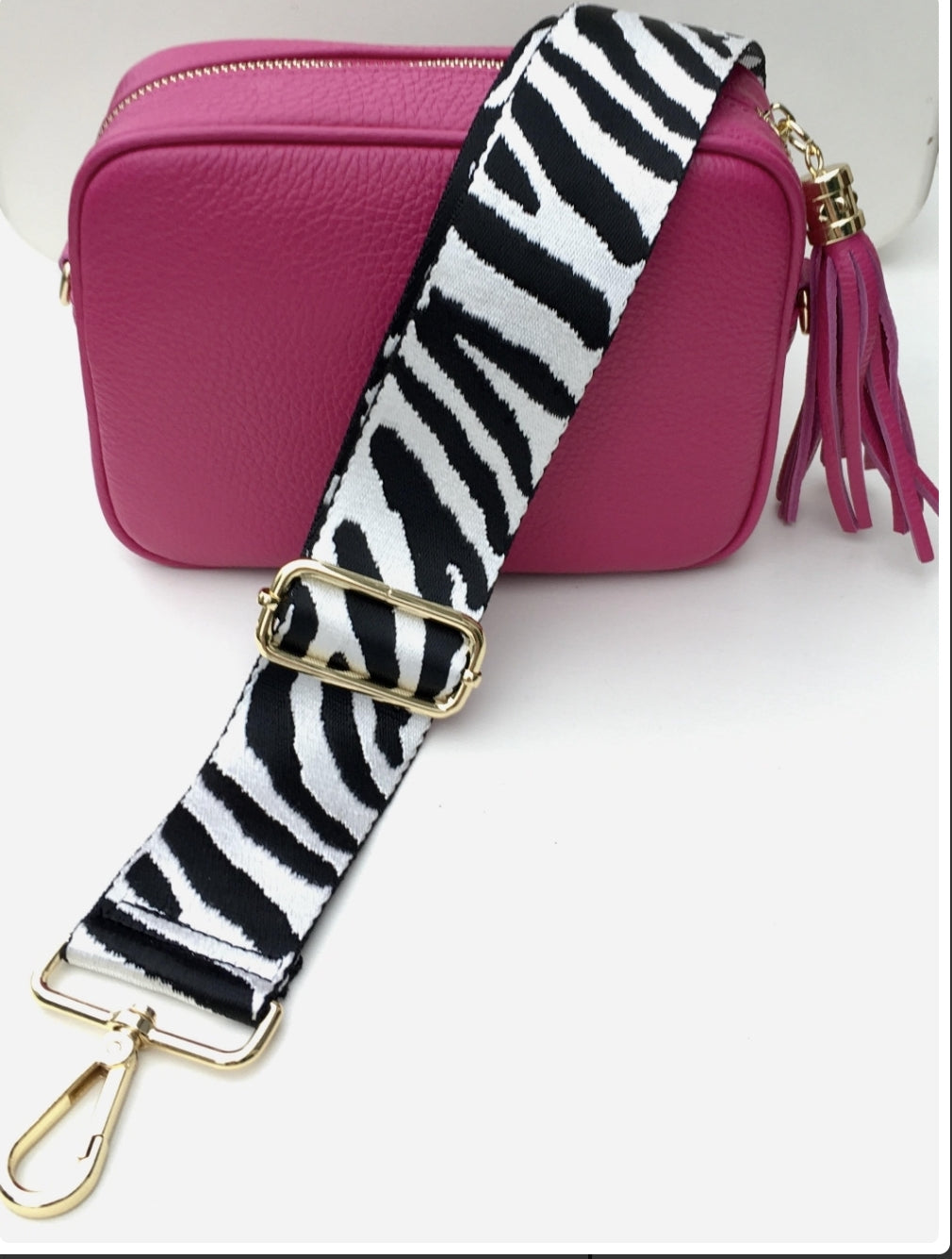 Georgia Crossbody Bag (Pink)