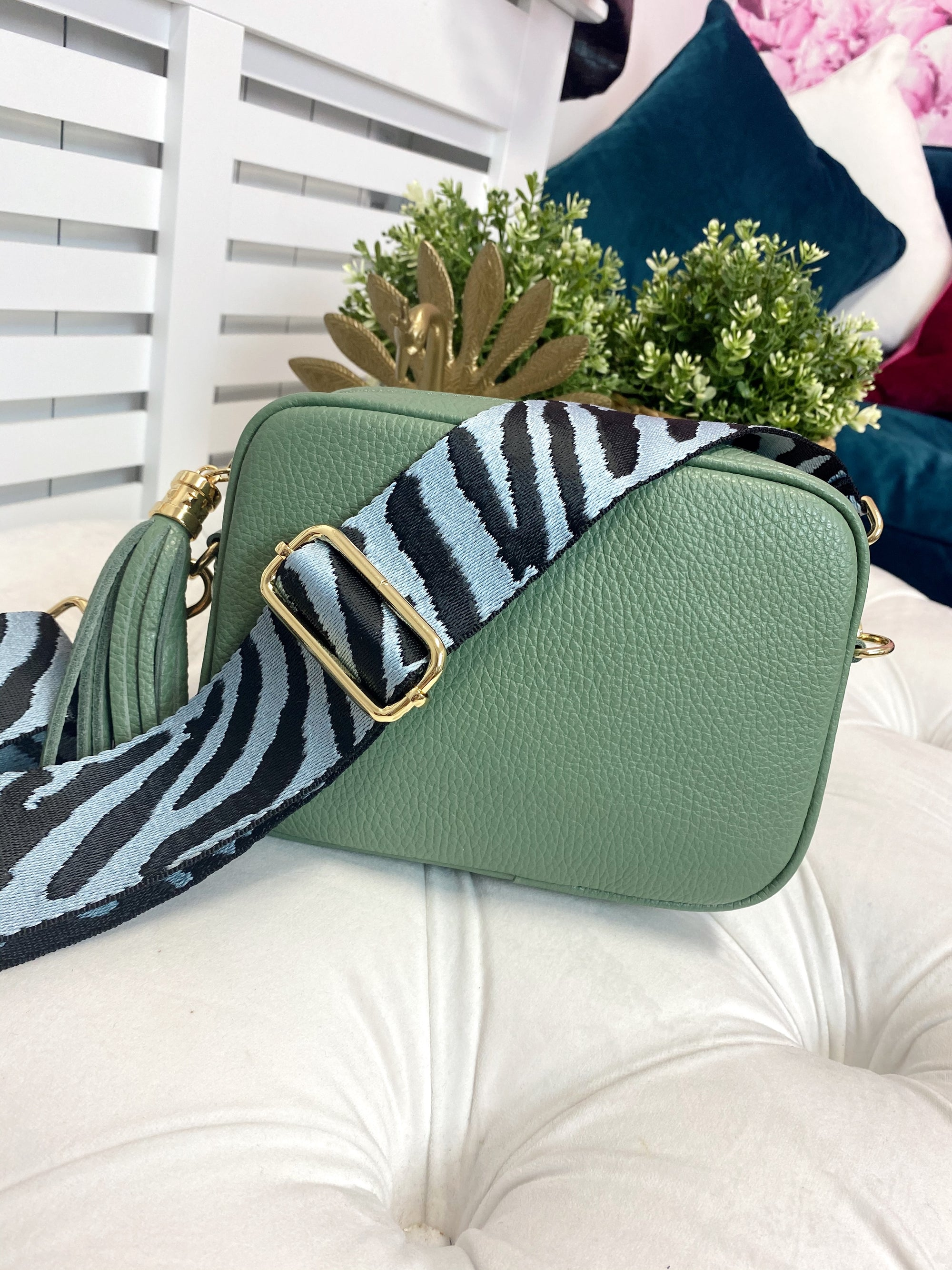 Georgia Crossbody Bag (Green)