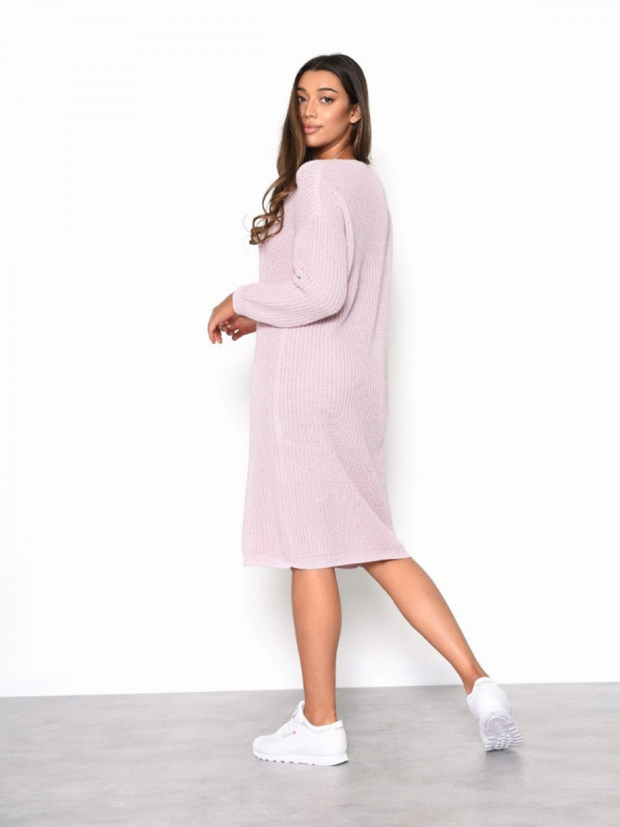 Lacie Jumper Dress (Pink)