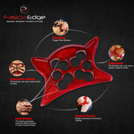 FasciaEdge2.1 Massage Tool: IASTM, Muscle Recovery, Rehabilitation, Myofascial release.