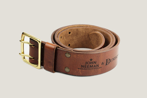 Leather Belt Double Tongue