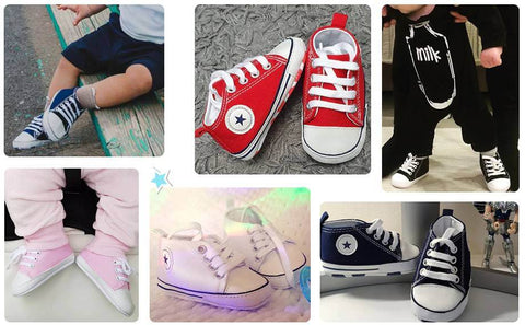 all star baby tenis