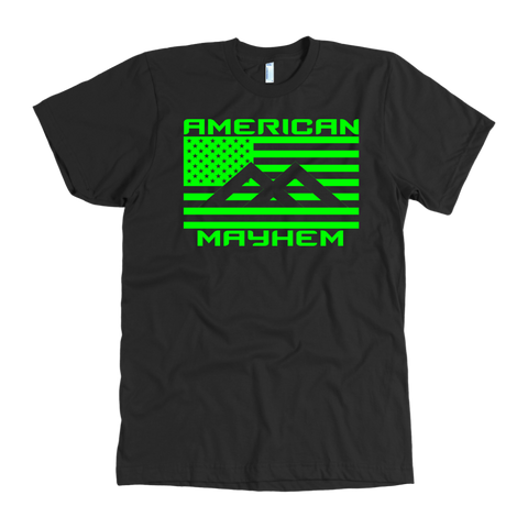 American Mayhem Big Flag Green