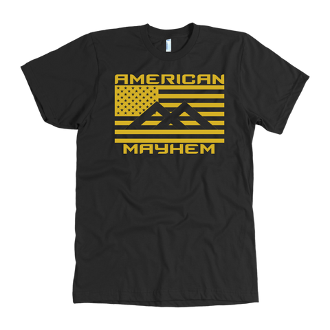 American Mayhem Big Flag Gold