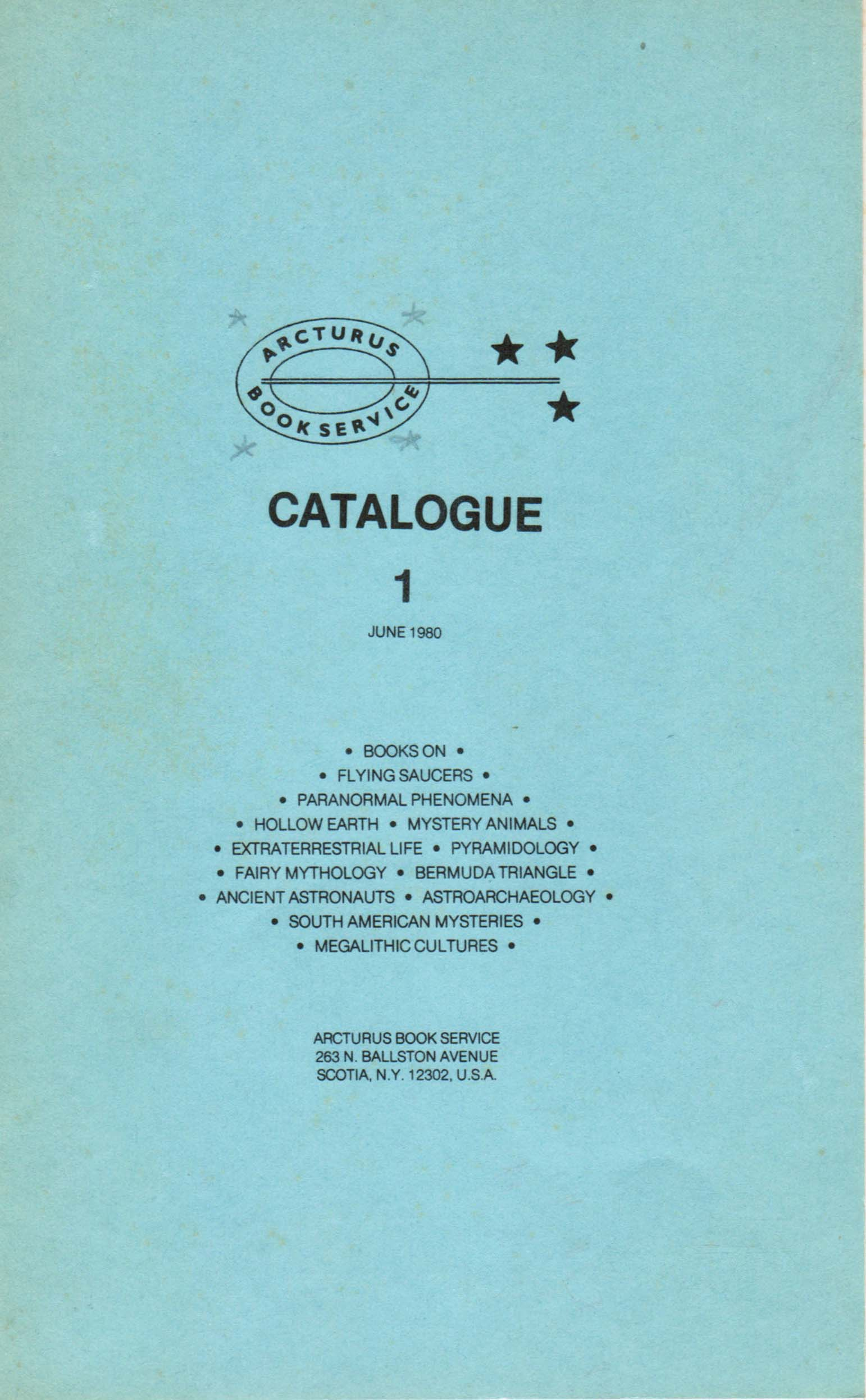 First Catalog 1980