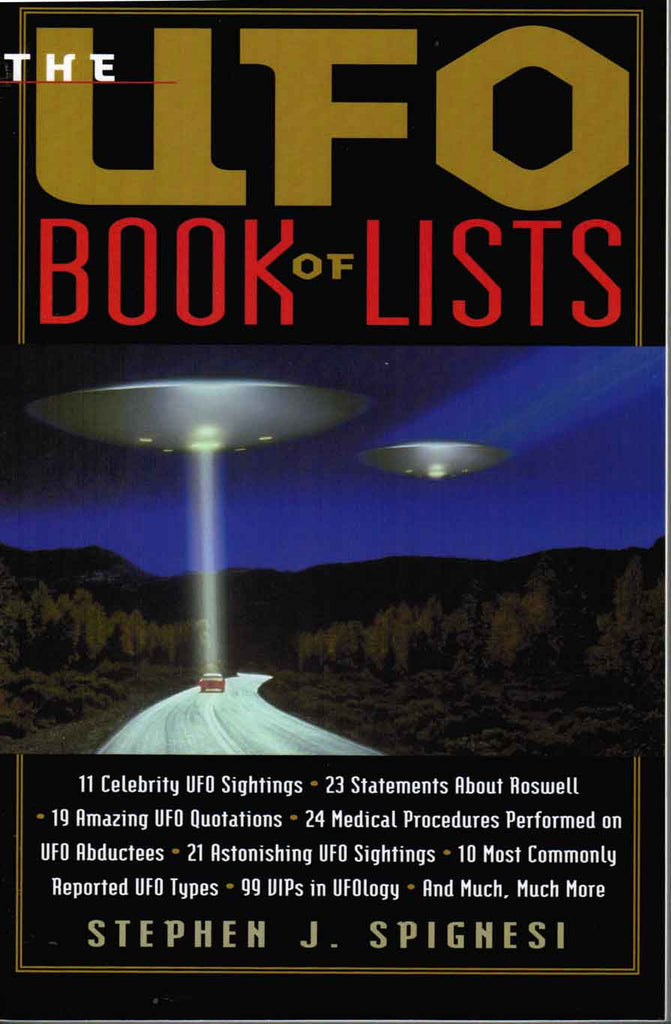 The UFO Book of Lists