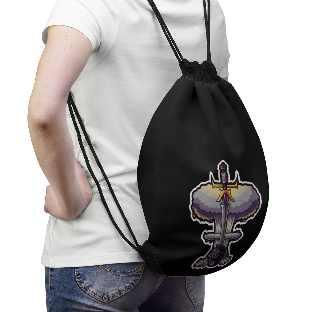 KCG Logo Drawstring Bag