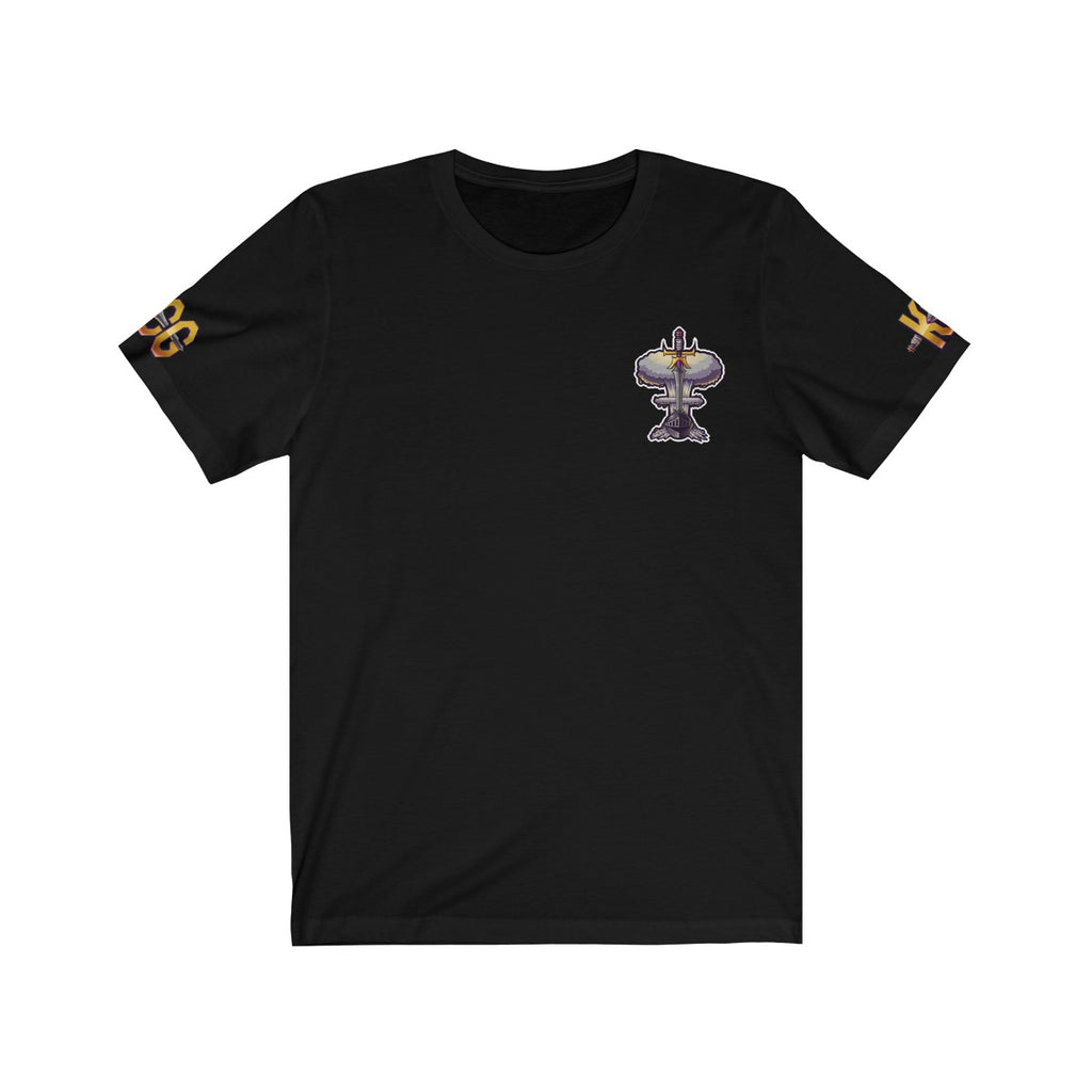 KCG Gold Sleeves Small Logo Short Sleeve Tee