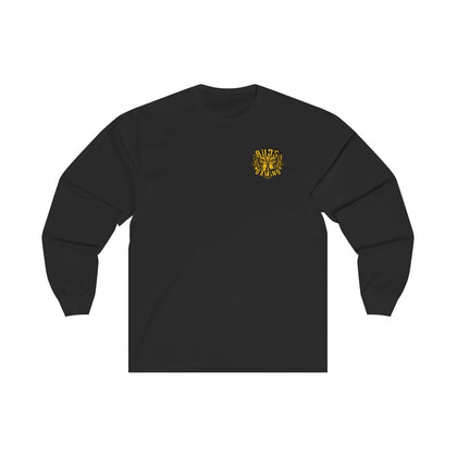 Buds Gaming Long Sleeve Tee Front and Back