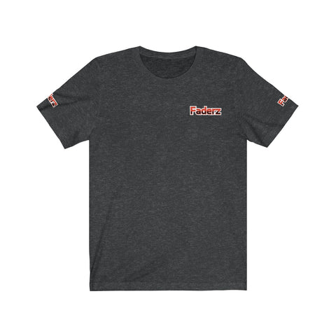 Faderz Both Sleeves Back and Front Logo Short Sleeve Tee