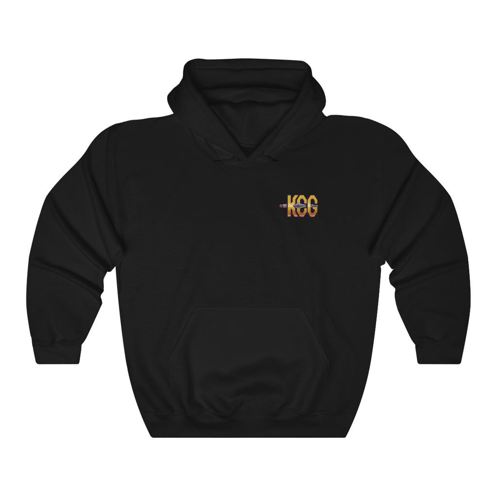 KCG Small Logo Gold Heavy Blend™ Hooded Sweatshirt