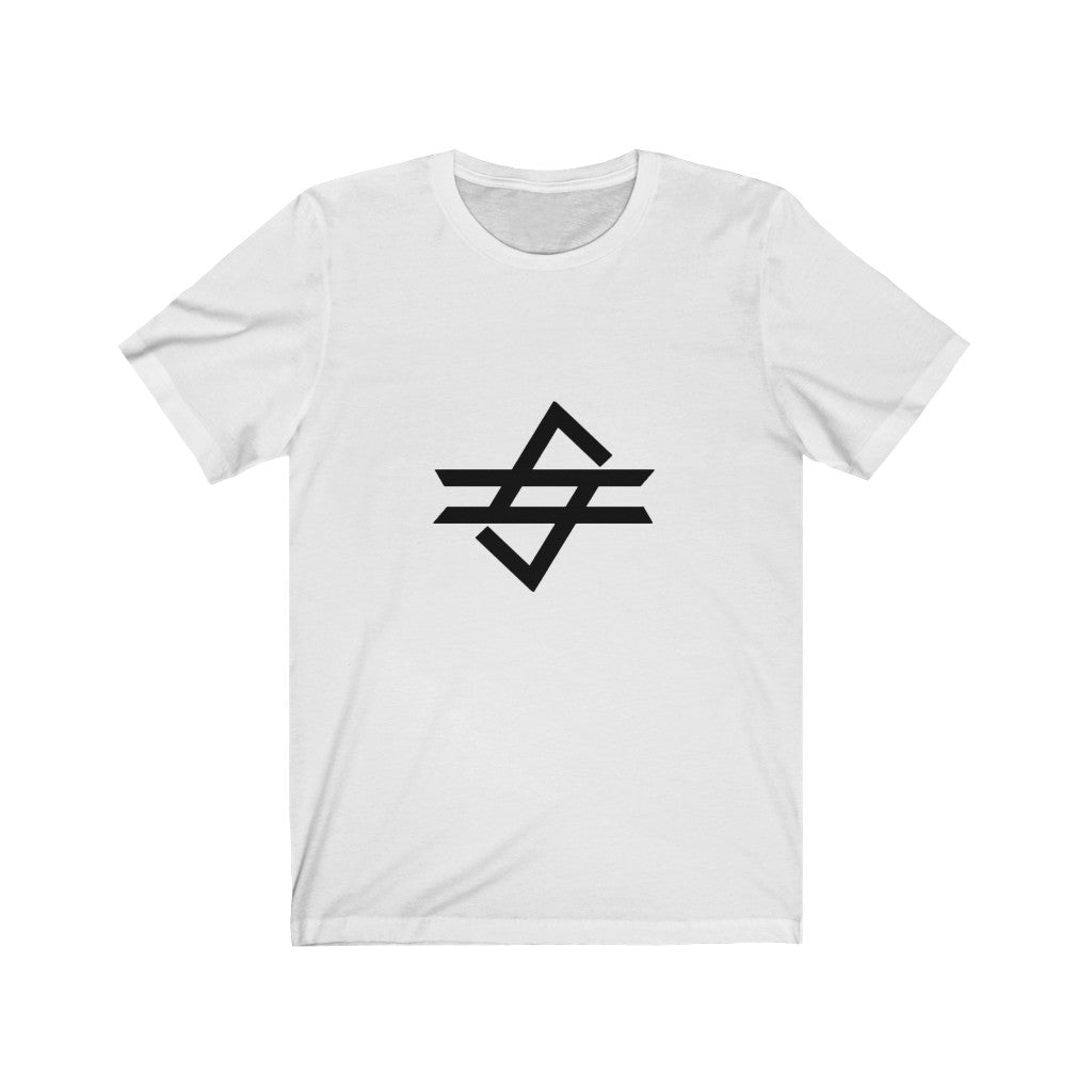 Code Gaming Black Big Logo Short Sleeve Tee