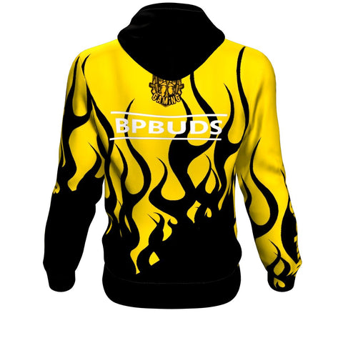 Buds Gaming Pro Fire Hoodie