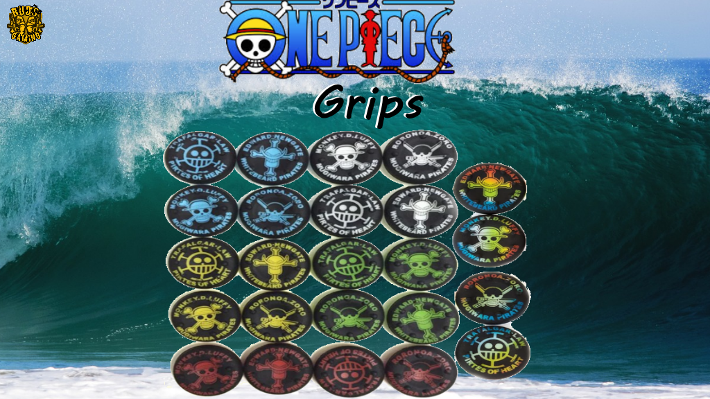 One Piece Thumb Stick Grip Caps