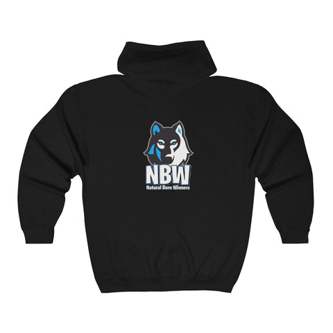 NBW Heavy Blend™ Full Zip Hooded Sweatshirt
