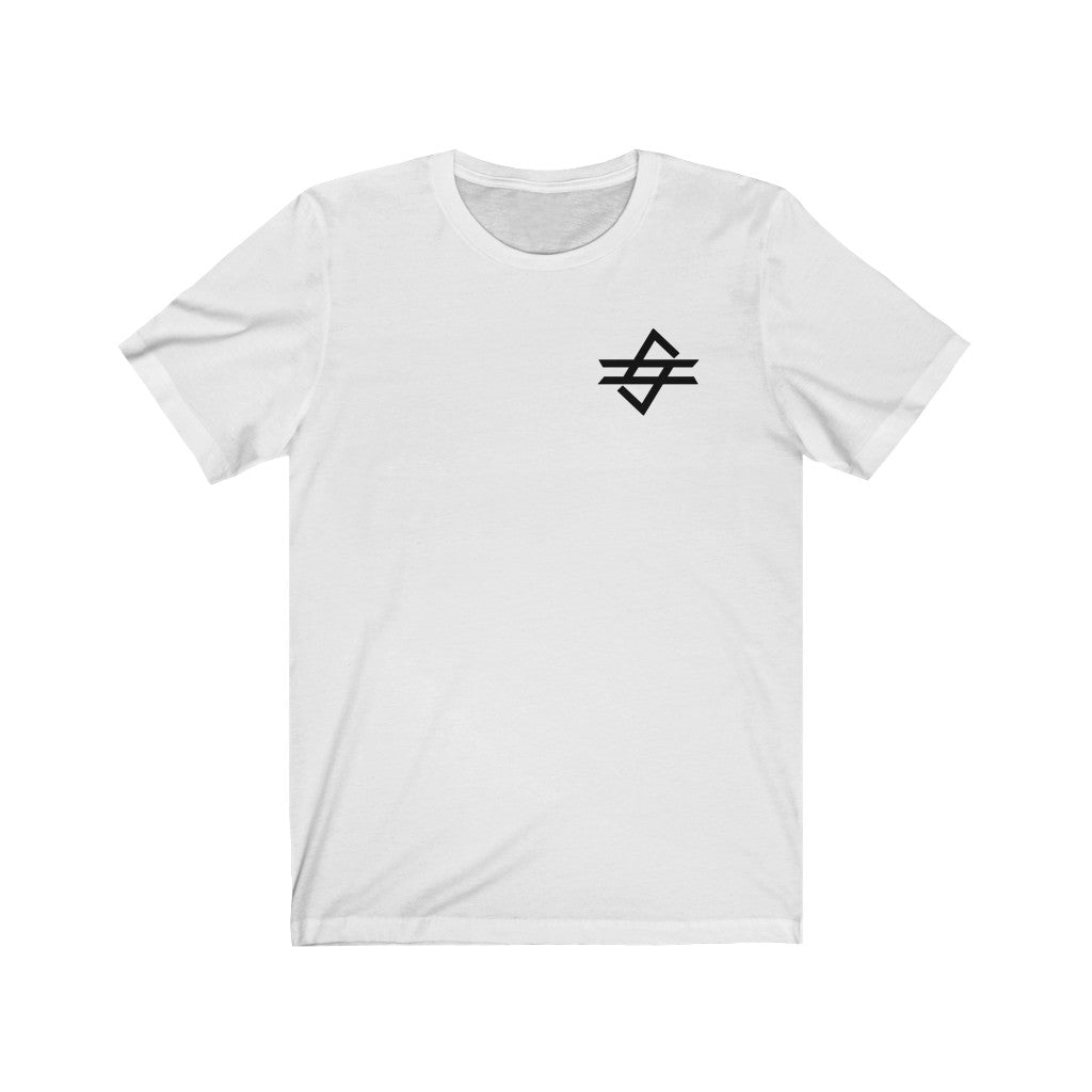 Code Gaming Black Small Logo Short Sleeve Tee