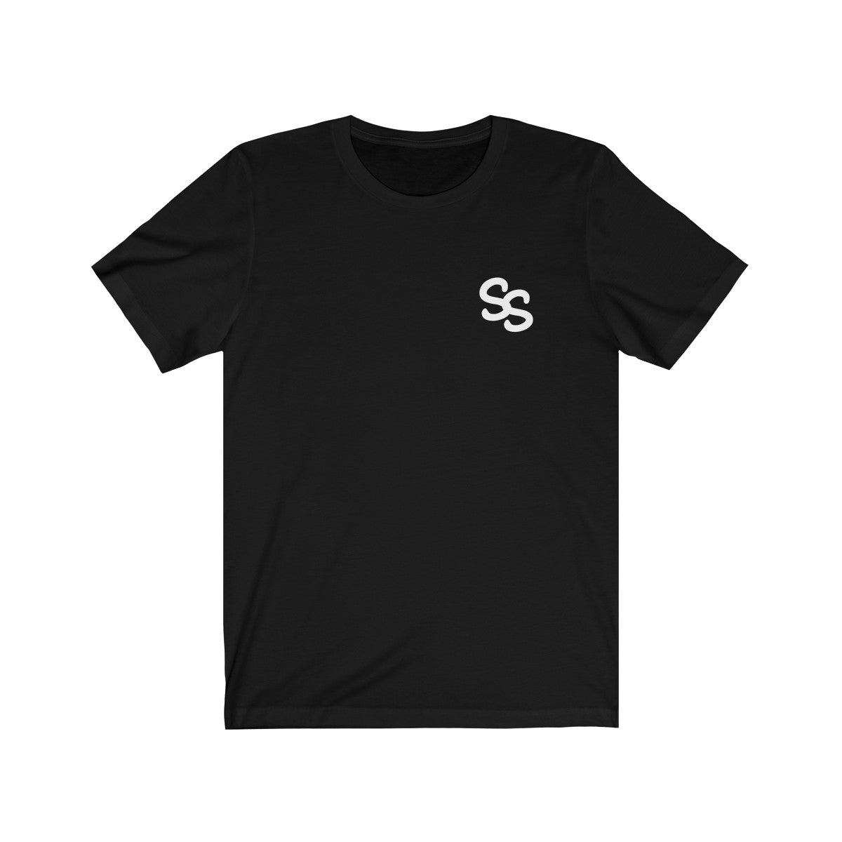 SS Clan Small Logo White Jersey Short Sleeve Tee