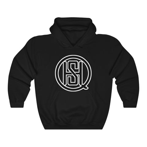 Custom SHQ Black Logo Heavy Blend™ Hooded Sweatshirt