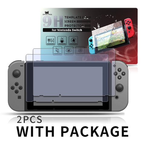 Premium Tempered Glass Screen Protector For Nintendo Switch Screen