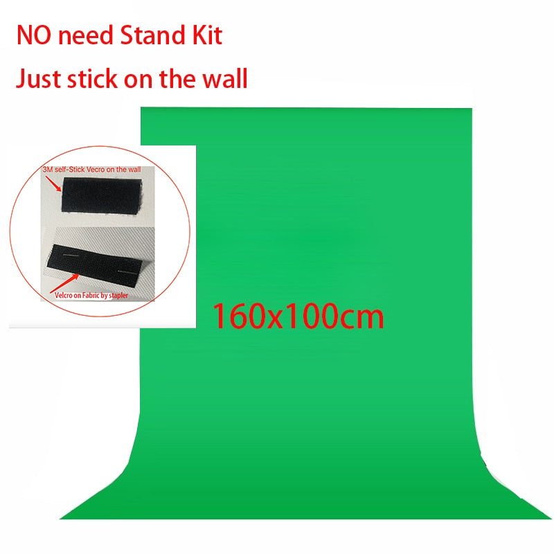 No need Stand Kit Green Screen