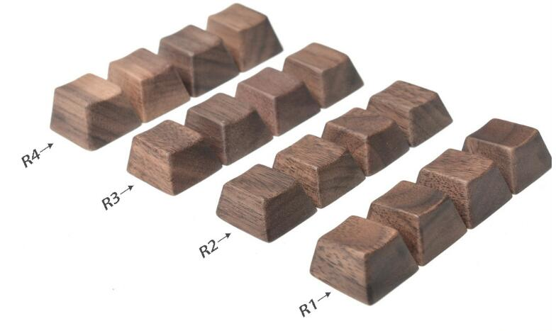 Wood keycap for mechanical keyboard