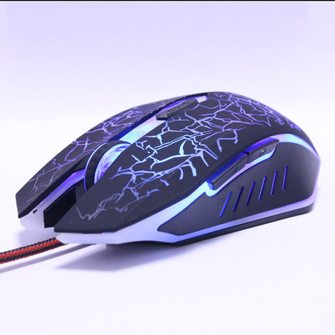 8D 3200DPI Adjustable Wired Optical LED Computer Mouse