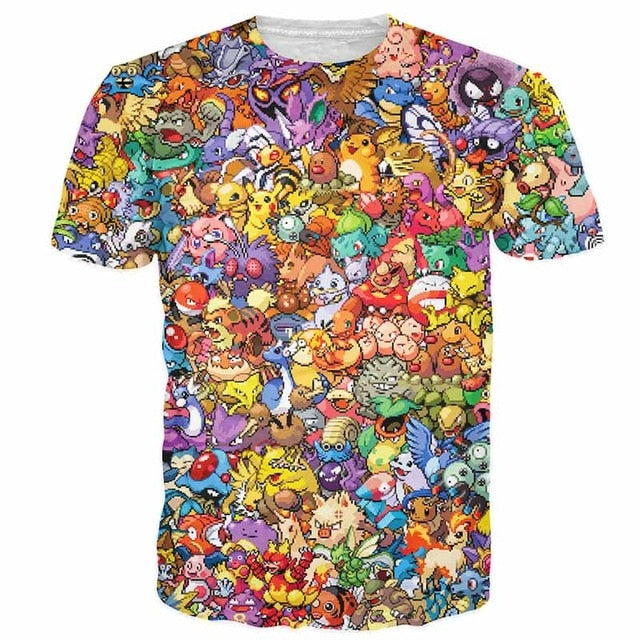 Pokemon collage Tshirt