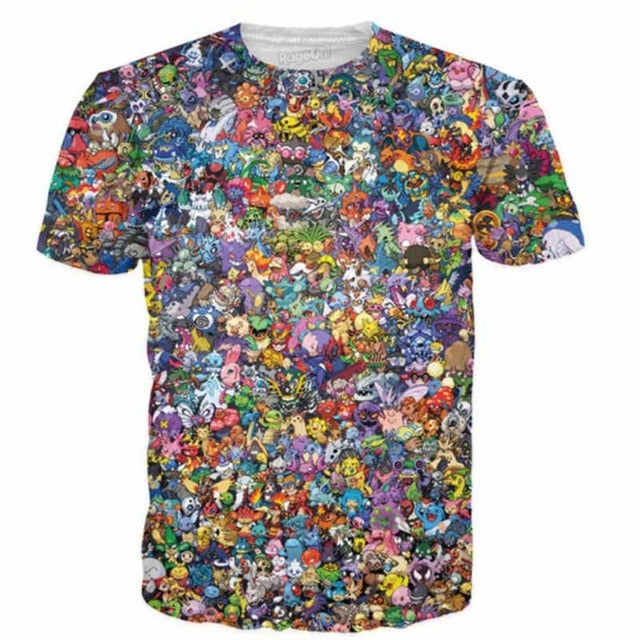 Pokemon Collage Shirt