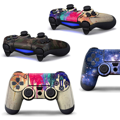 Full Cover Skin Stickers for PS4 Controller