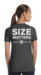 """Size Matters"" re:3D T Shirt"
