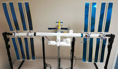 The ISS Mimic Fully Assembled with wiring and electrical components.